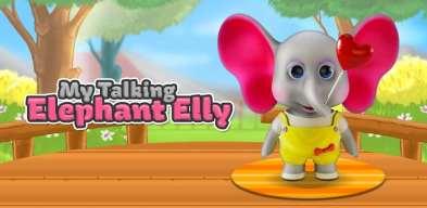 elly qui parle, Eli koja Govori - Decije Igre, Talking Elly - Virtual Pet, моя говорящая элла, elefante parlante, elefante falante