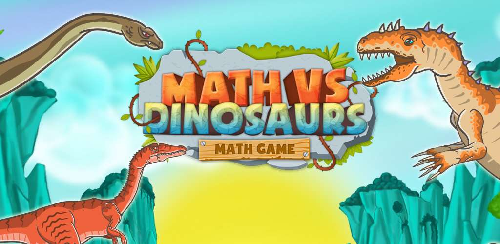 Math vs Dinosaurs - Fun Educational Game for Android and iOS