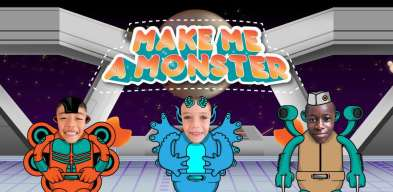 Fais de moi un monstre, детские игры монстры, Maskiraj me u čudovište, fare di me un mostro