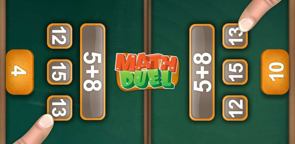 Math Duel: 2 Player Math Game for Android, iOS and Windows Free