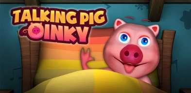 porquinho falante, cochon qui parle, Prase koje Govori, talking pig - virtual pet, моя говорящая свинка, maialino parlante