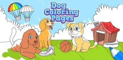 Coloriage Chien, Psi Bojanke, Dog Coloring Pages, раскраски собаки, cani da colorare, Cachorro para Colorir