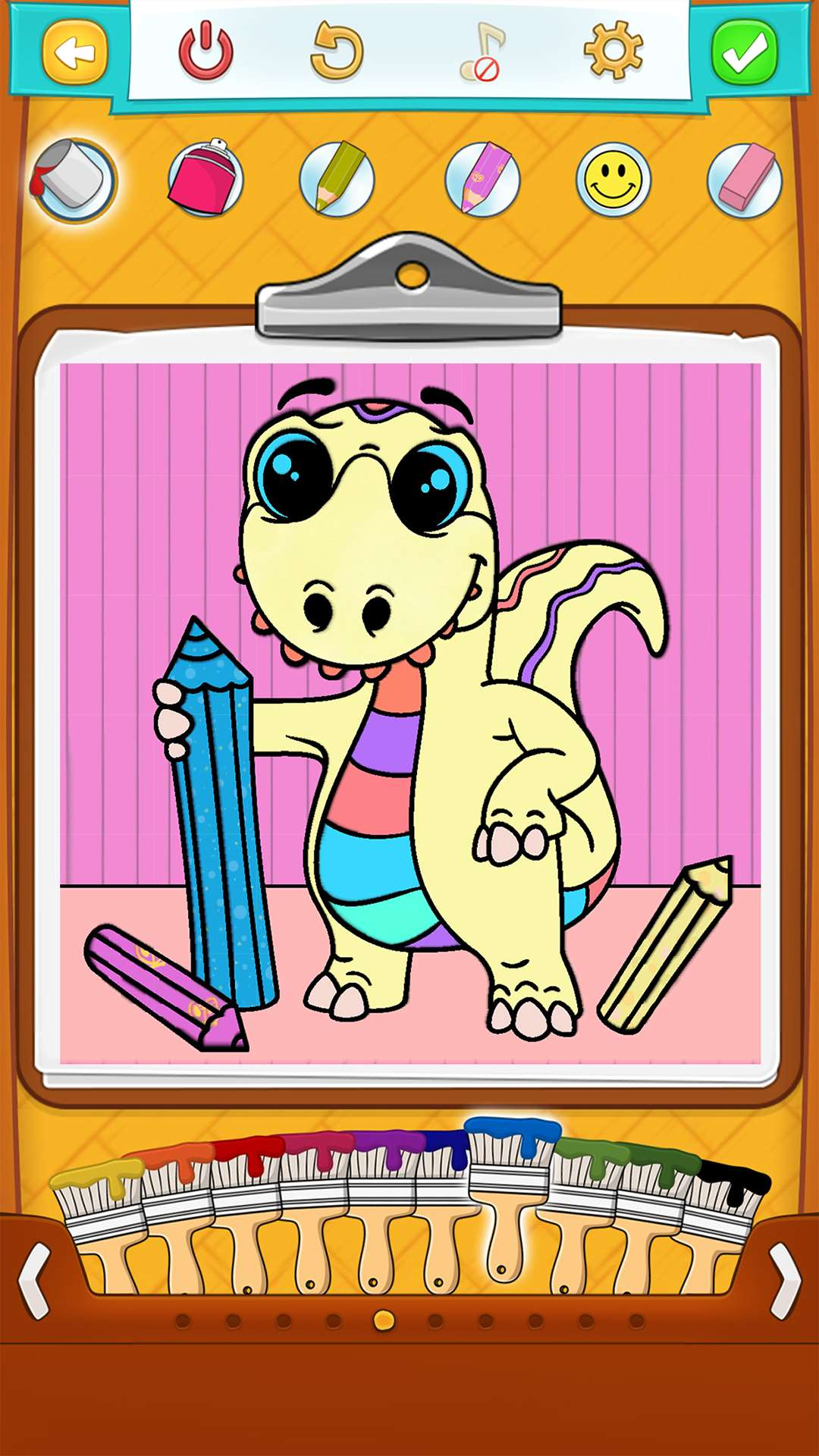 Dinosaur Coloring Pages For Kids Android Iphone Ipad App