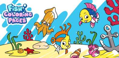 Riba Bojanka, coloriage poisson, Fish Coloring Pages, Раскраски Рыбки, pesci da colorare, peixe para colorir