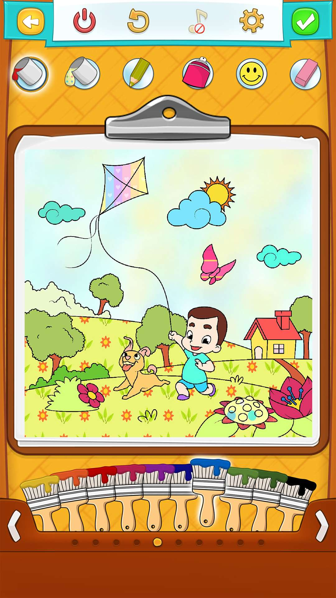 Spring Coloring Pages Android