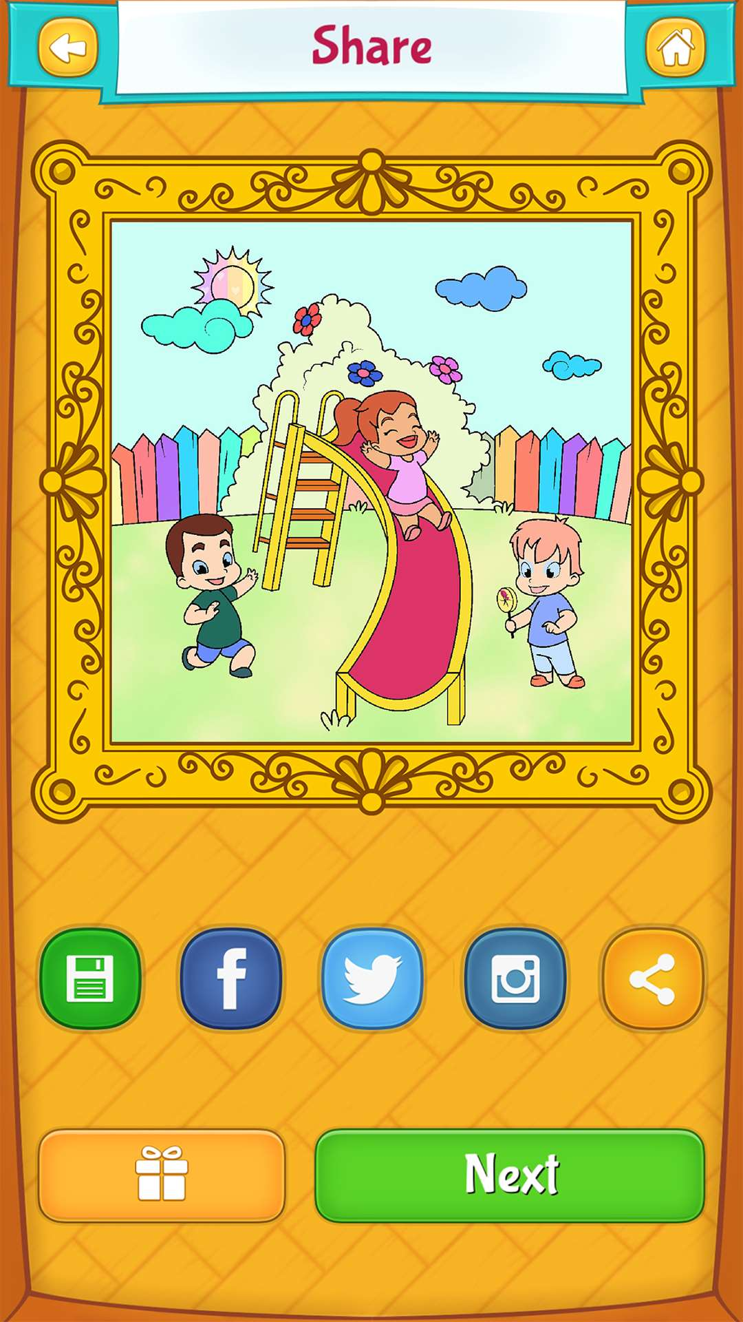Spring Coloring Pages Android Iphone Ipad Amp Windows