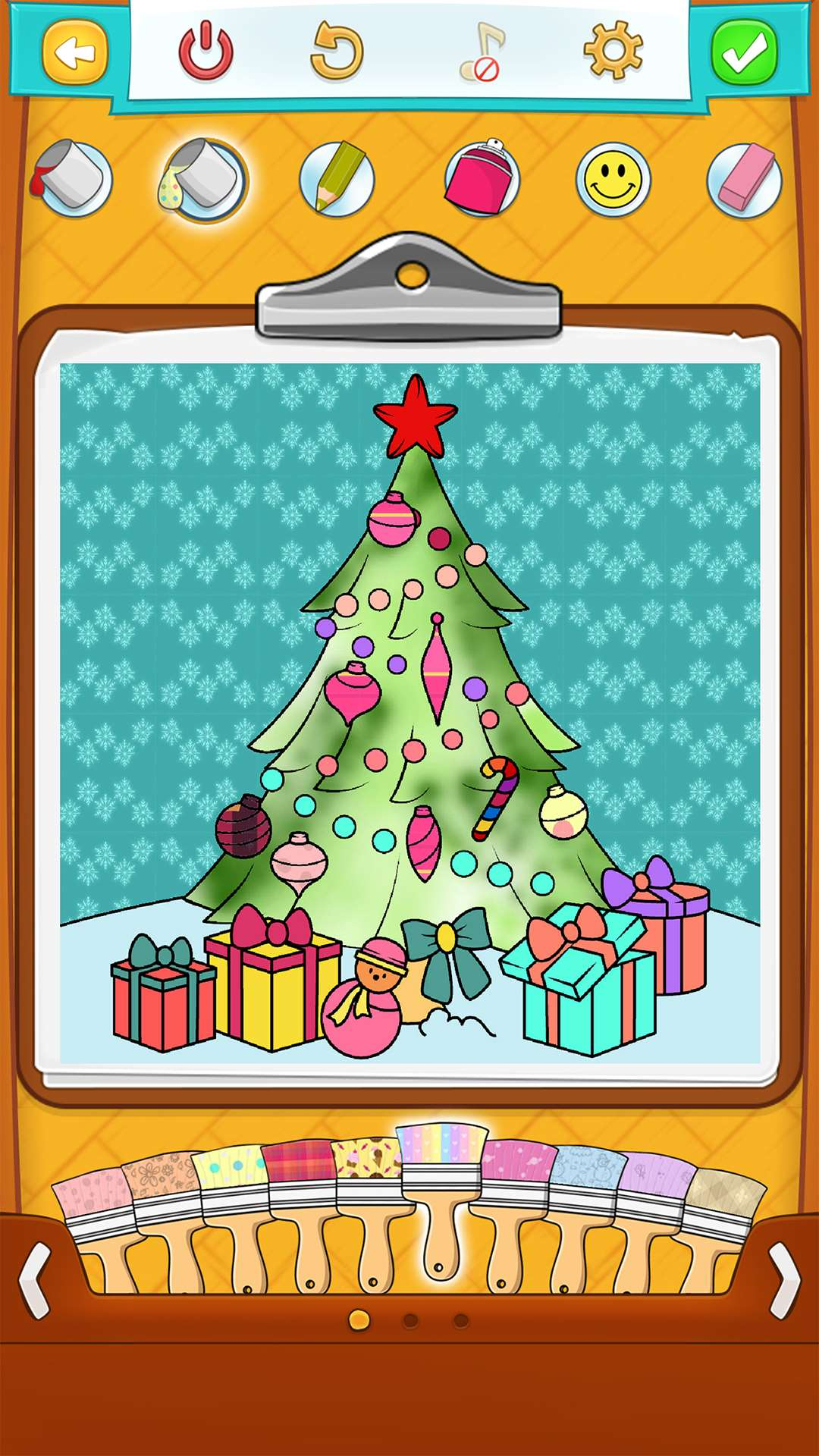 Christmas Coloring Pages for Kids on Android, iOS & Windows Phone
