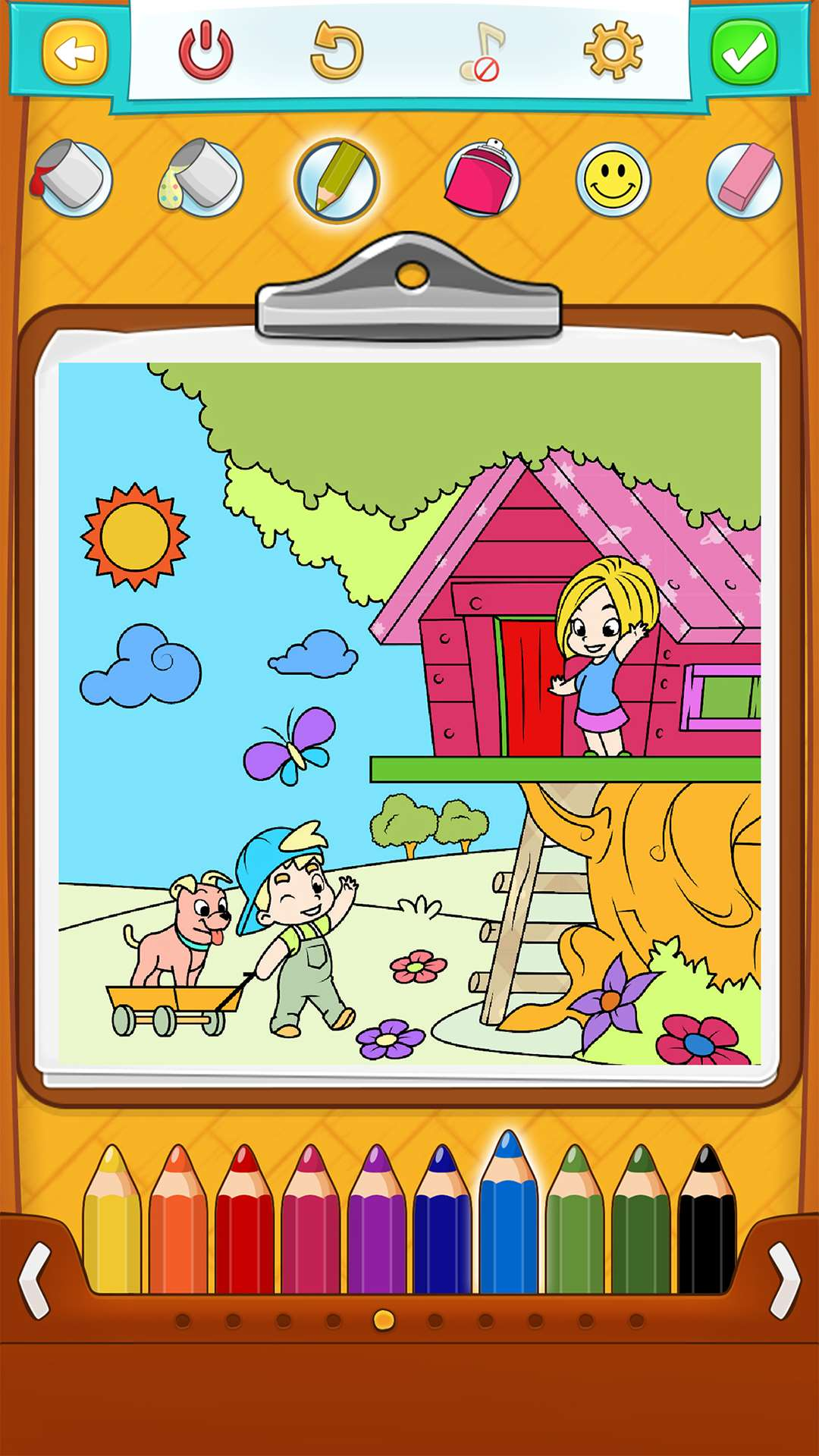 Coloring Games for Kids Free for Android, iOS and Windows Phone