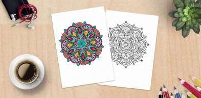 mandala coloring pages, Coloriage Mandala Adulte, Mandala da Colorare, Mandalas para Pintar, Раскраски Мандала, Mandala Bojanka