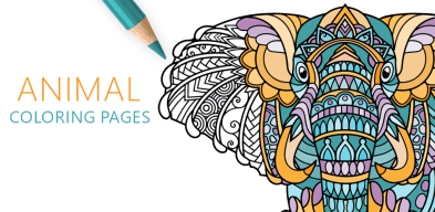Animal Coloring Pages, Coloriage Animaux pour Adulte, Animali Da Colorare per Adulti, Взрослые Раскраски Животные, Animais para Colorir Adultos, Bojanka Životinje za Odrasle