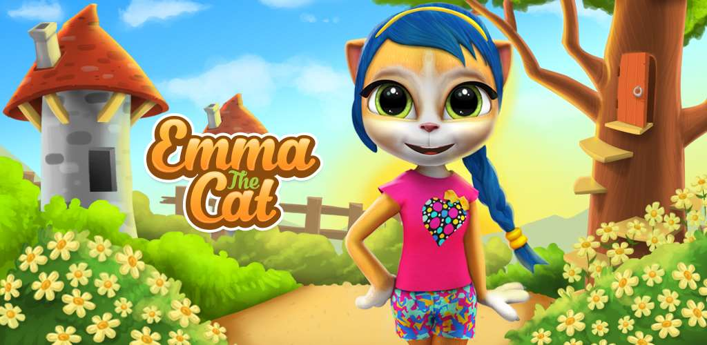 Emma The Cat Virtual Pet Games For Android Ios And