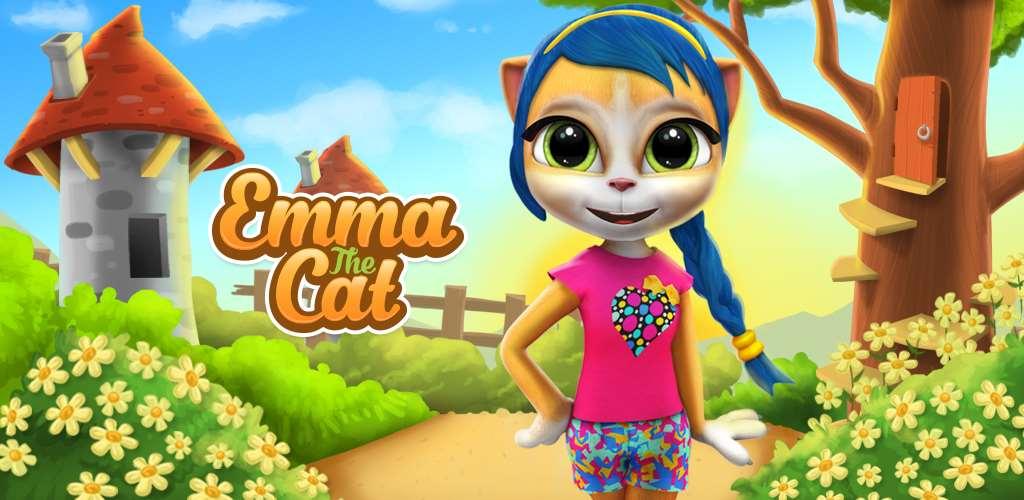 Emma the Cat, Chat Qui Parle Emma, Gatto Parlante Emma,Кошка Эмма, Gato Falante Emma, Mačka koja Priča Ema
