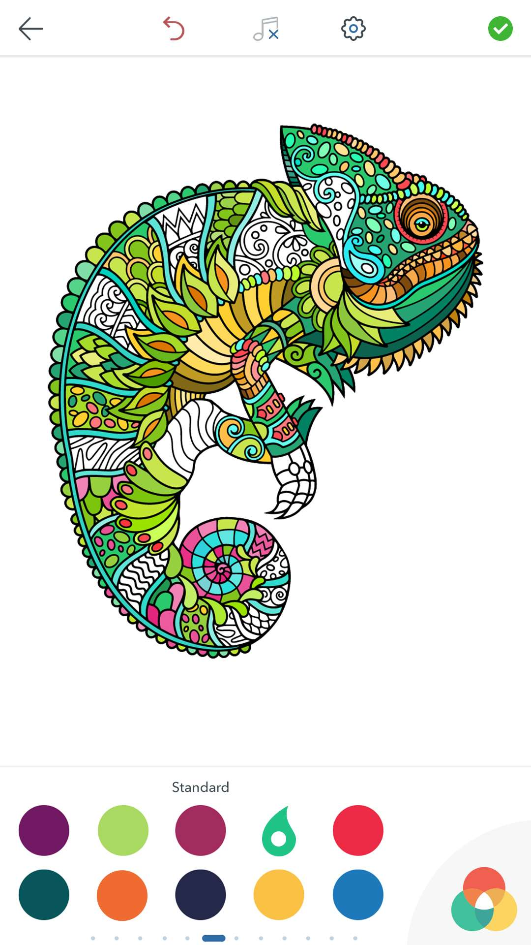 Animal Coloring Pages For Adults For Android Ios And