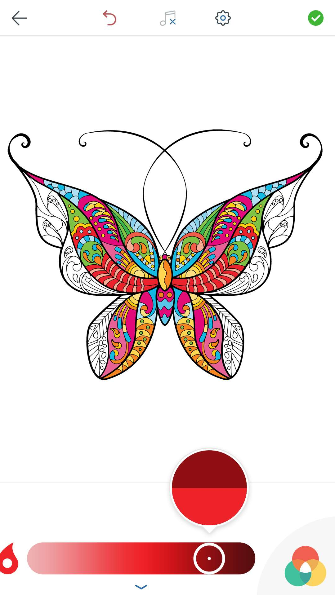 Butterfly coloring page symmetry - Adult Butterfly Coloring Pages Adult Butterfly Coloring Pages