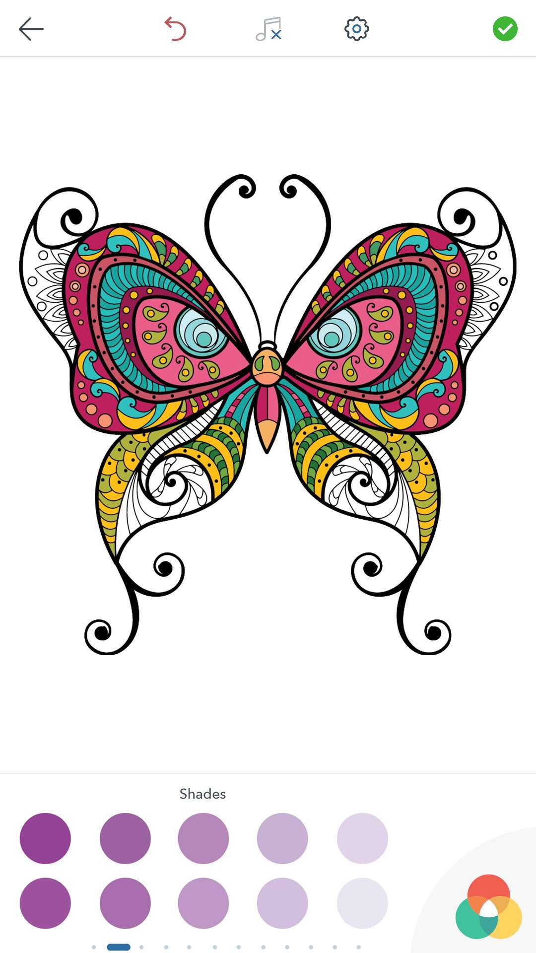 butterfly coloring pages for android ios and windows phone