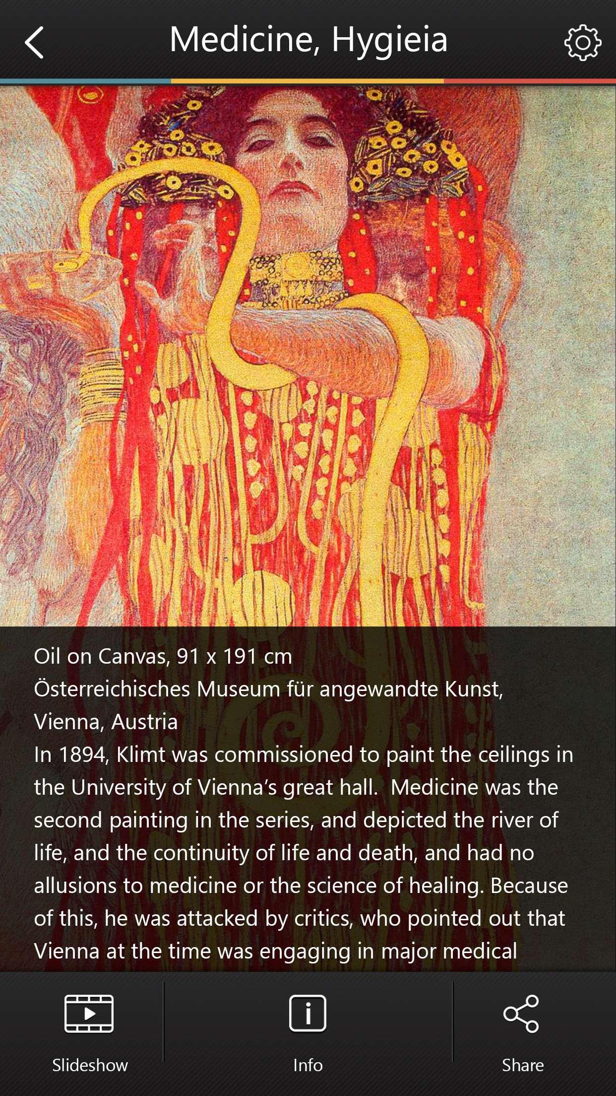 Gustav Klimt Museum