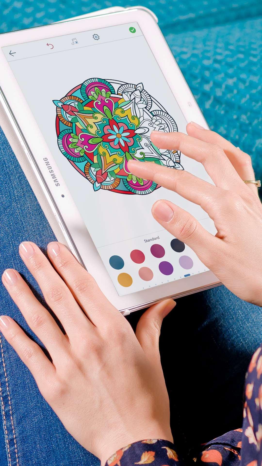 Раскраски для взрослых скачать на андроид
