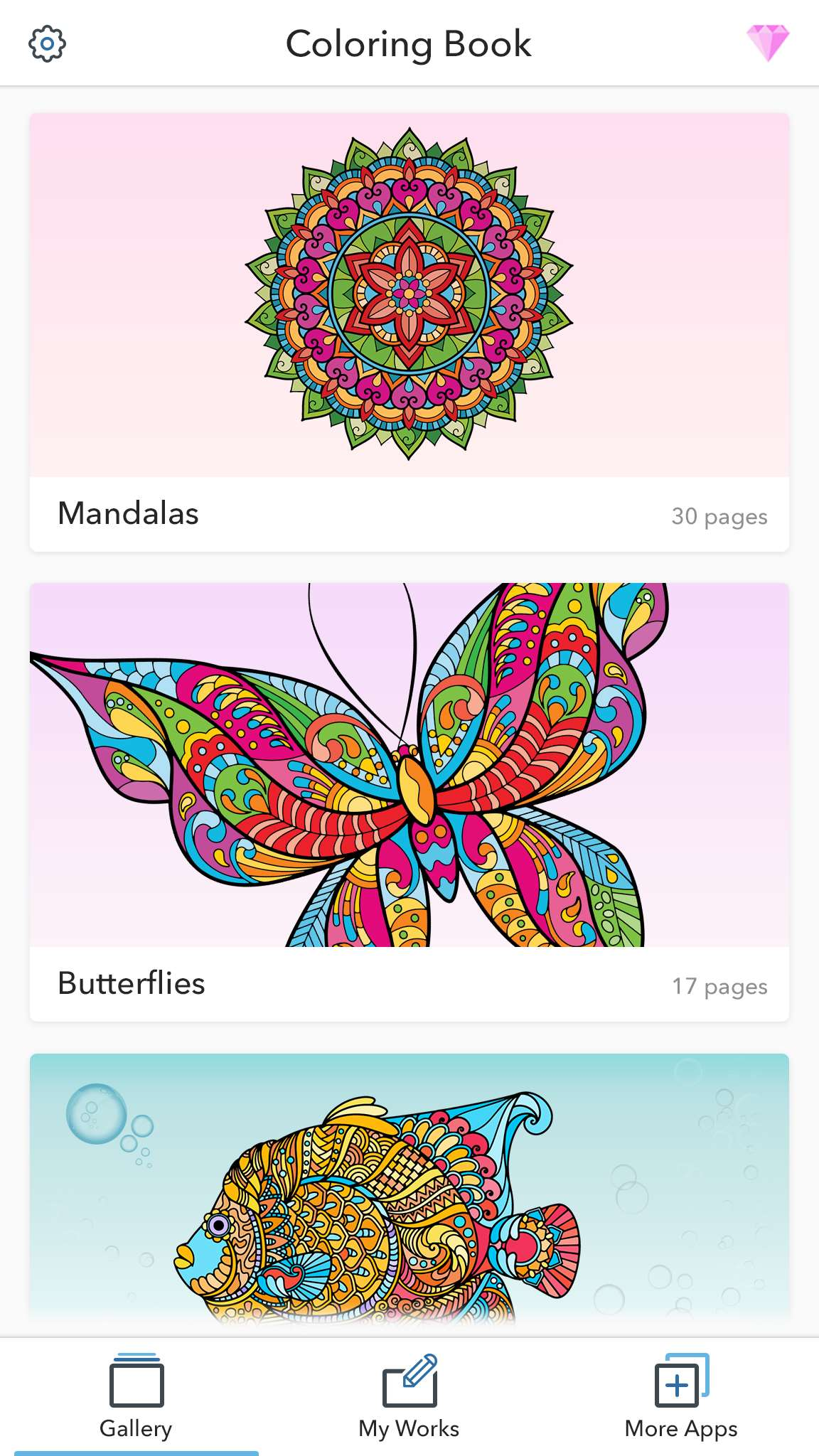 Coloring Pages For Adults For Android IOS And Windows Phone