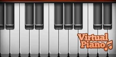 Virtual Piano, Piano Virtuel, Pianoforte Virtuale, Виртуальное Пианино, Virtuelni Klavir