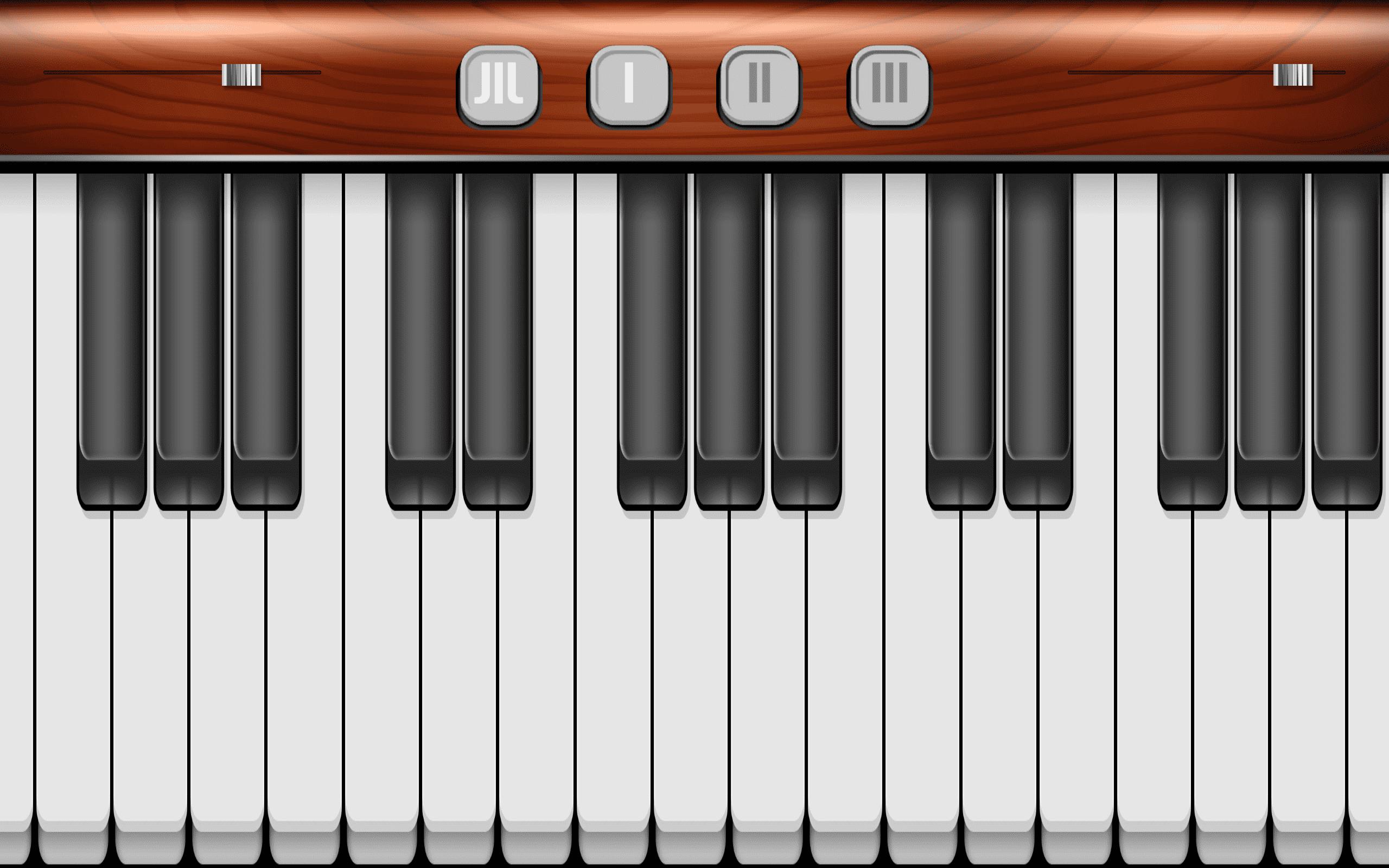 Virtuelles Piano
