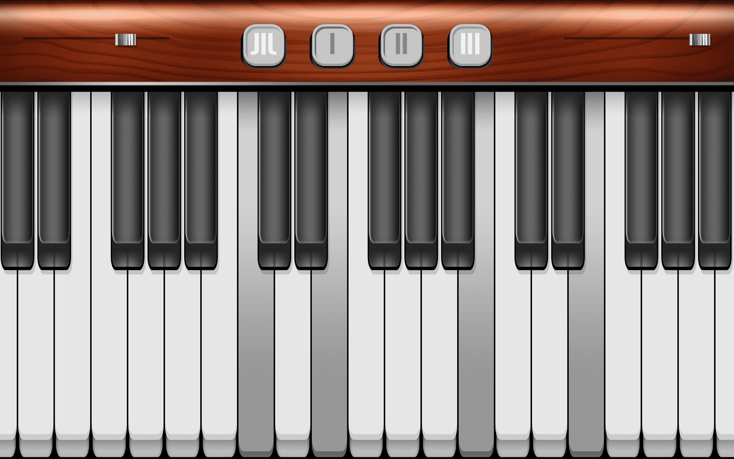 Klavier Virtuell