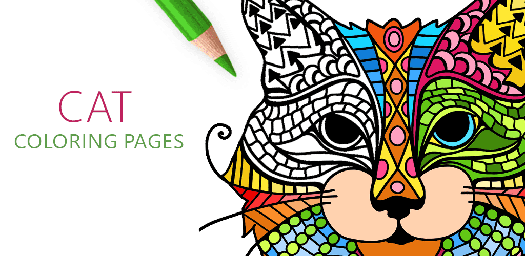 Cat Coloring Pages For Adults Free Android IOS And Windows Phone