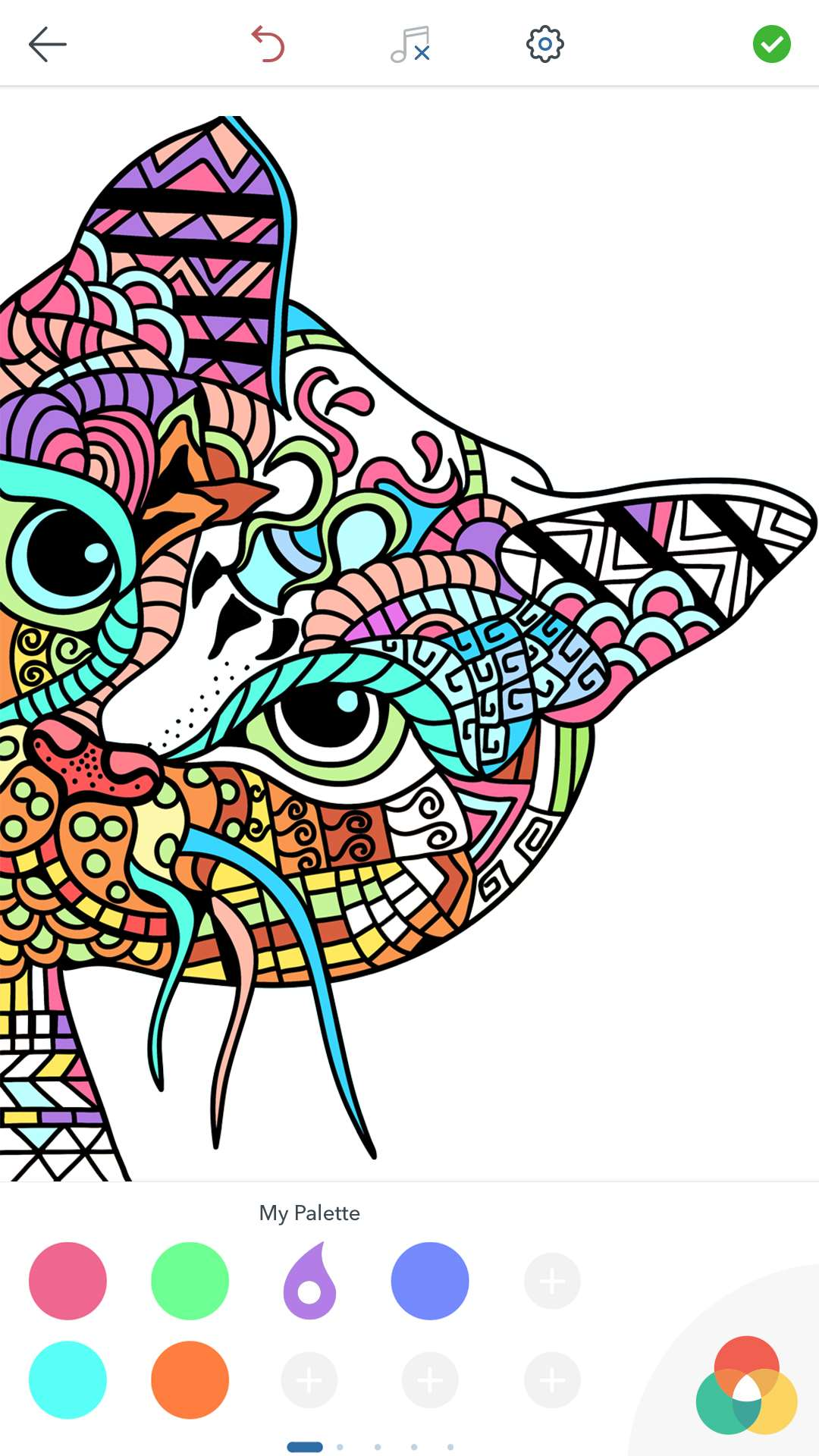 Cat Coloring Pages for Adults Free for Android iOS and