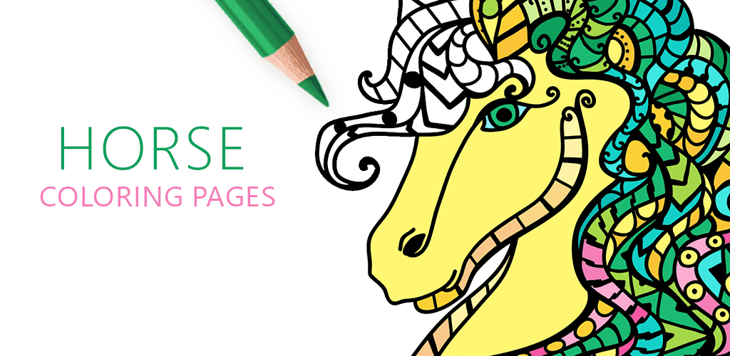 Horse Coloring Book, Coloriage Cheval pour Adulte, Cavalli da Colorare per Adulti, Раскраски Лошади для Взрослых, Cavalo para Colorir Adultos, Konj Bojanke za Odrasle