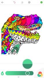 Adult Dinosaur Coloring Pages