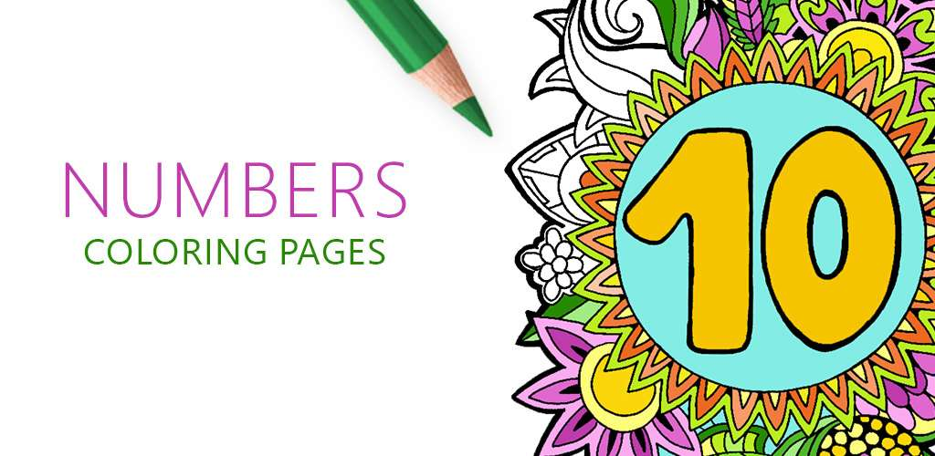 Numbers Coloring Pages, Numeri Disegni da Colorare, Nombres Coloriage pour Adulte, Цифры Раскраски для Взрослых, Brojevi Bojanka za Odrasle, Números para Colorir