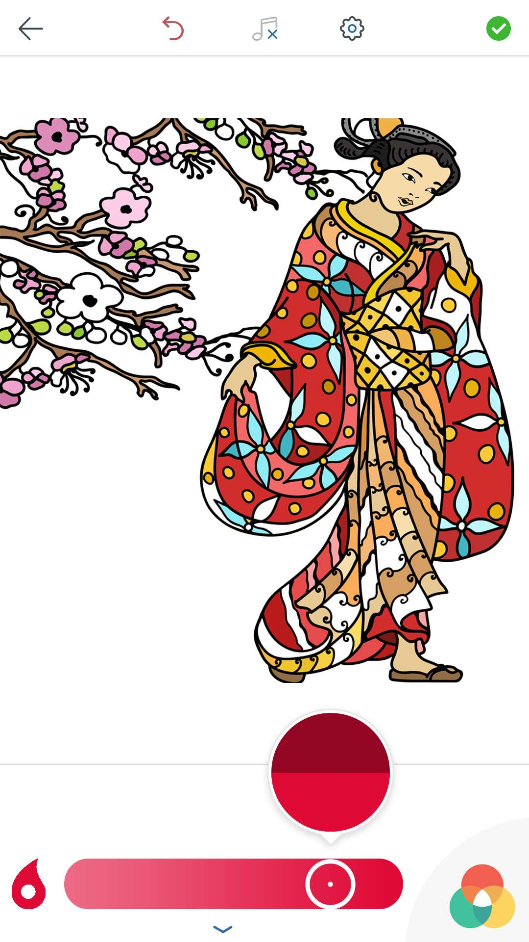 Coloring Pages Ipad Pro : Japanese coloring book for adults android and ios