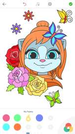 Emma the Cat Coloring Pages