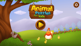 Animal Puzzles, Puzzle Animaux, Puzzle Animali, Quebra Cabeça Infantil, Пазлы Животные, Životinje Slagalica