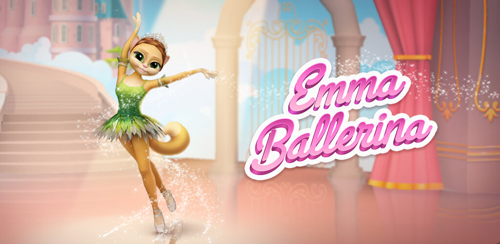 Emma The Ballerina My Talking Virtual Cat Game